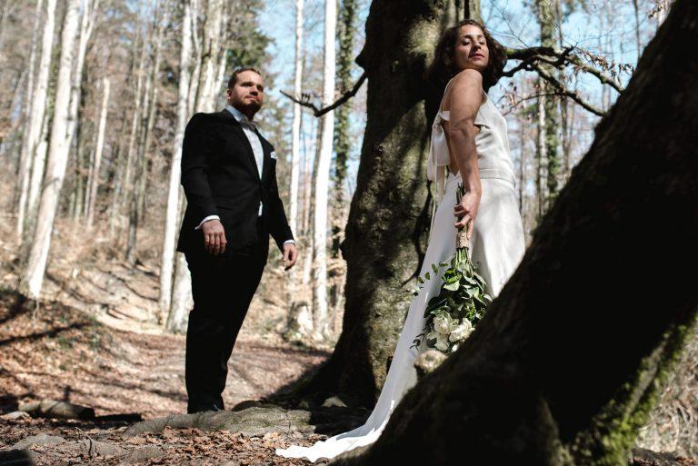 Mariee dans les bois